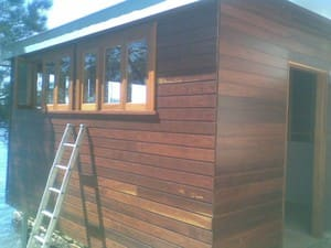 timber boatshed
