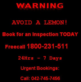 Vehicle inspections in Sydney