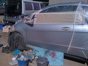 REPAIR &amp; PAINTLARGE DENTS