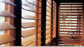 clear lacquaer cedar blinds