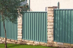 ColorMAX Boundary Fencing manufactured from COLORBOND