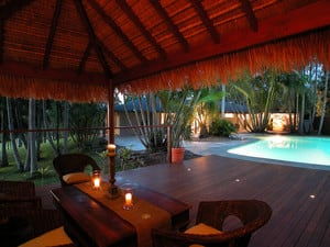 Bali Huts and Decking
