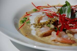 green curry prawn - si am bay
