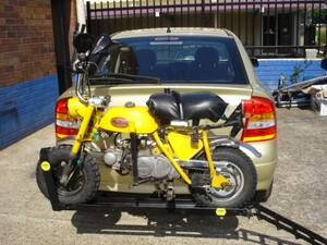 50-150cc motorbike rack