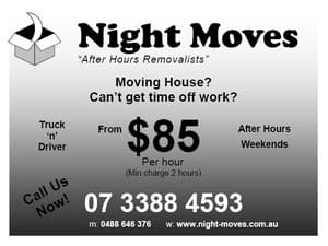 after hours removalists