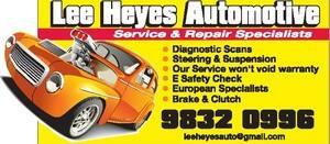 True Local: Lee Heyes Automotive Image