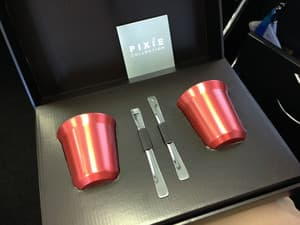 A friend gave me this lovely Nespresso Pixie cup set!