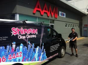 TrueLocal: Shimmer Glass Cleaning Image - Sydney Window Cleaners - We only employ professional Sydney window cleaners