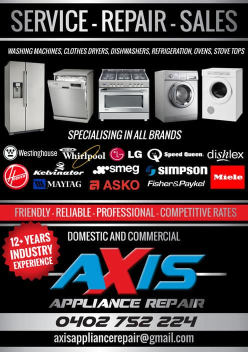 Axis Appliance Repair In Reservoir Melbourne Vic