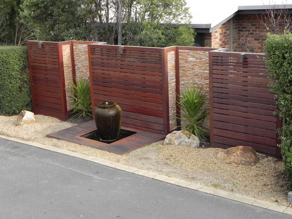 True local decking out melbourne image set back screens for Garden decking features