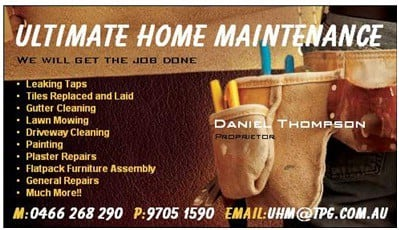 Ultimate Home Maintenance In Narre Warren South Melbourne
