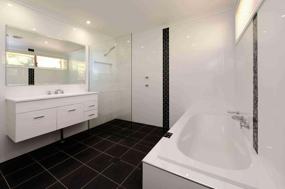 Bathroom renovations canberra in evatt act bathroom for Professional bathroom renovations