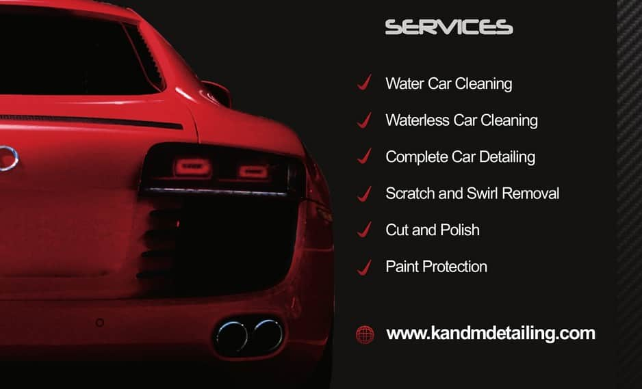 Gallery For Mobile Car Wash Business Cards