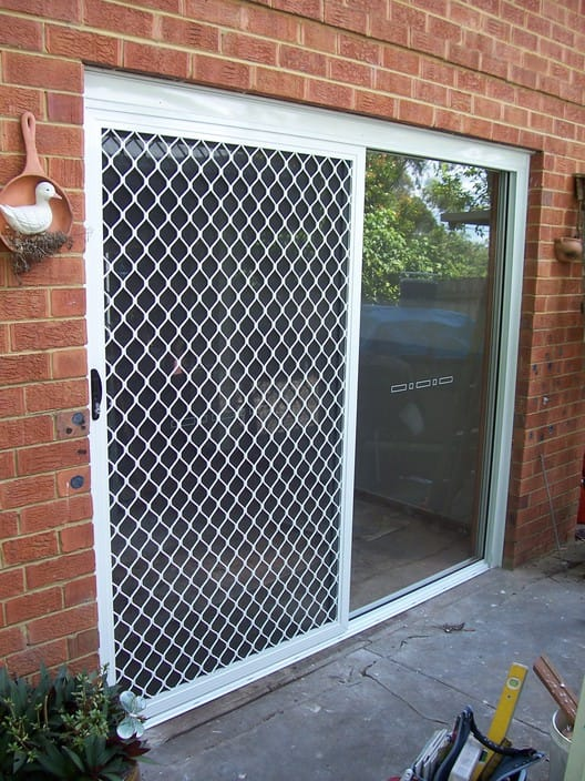 Craig stockton st marys sydney glazier for Aluminum sliding screen door