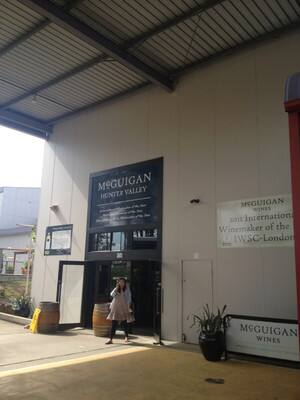 True Local: McGuigan Wines Pty Ltd Image - Cellar door entrance