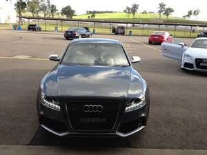 Audi contract at Eastern Creek Raceway