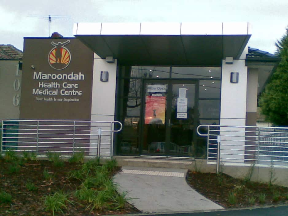 Maroondah Health Care Medical Centre In Ringwood East
