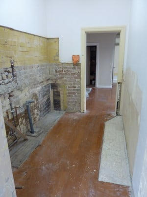 Strip out kitchen in Randwick
