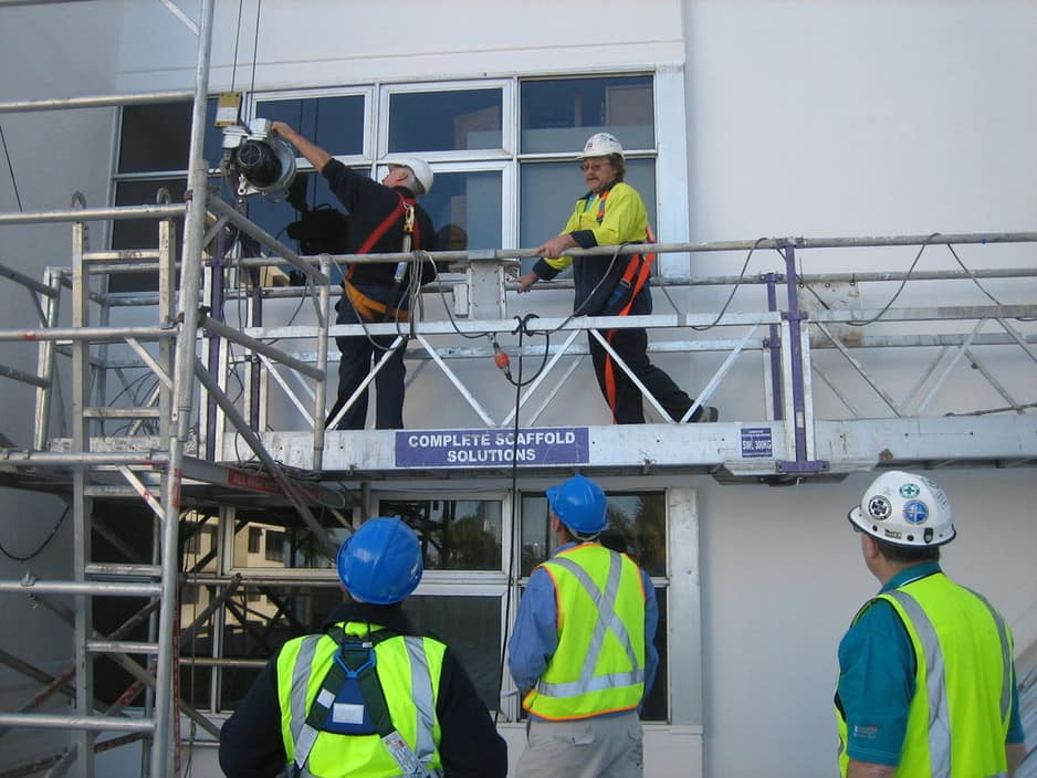 swing stage scaffold training courses are conducted by