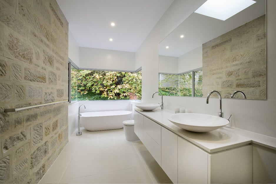 Acs designer bathrooms in crows nest sydney nsw kitchen for Designer bath