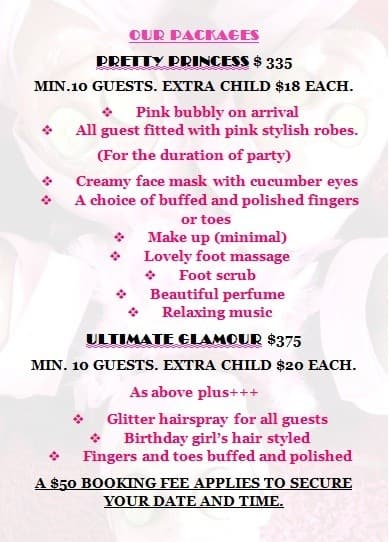 Little Princess Kids Pamper Parties In Hillside