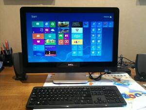 New Windows 8 Dell Touch screen machine installed for a customer in Wahroonga - superb !.