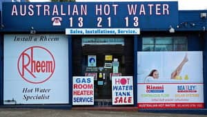 Australian Hot Water Inner West in Sydney Showroom and Service Centre at 617 Canterbury Road Belmore NSW 2192
