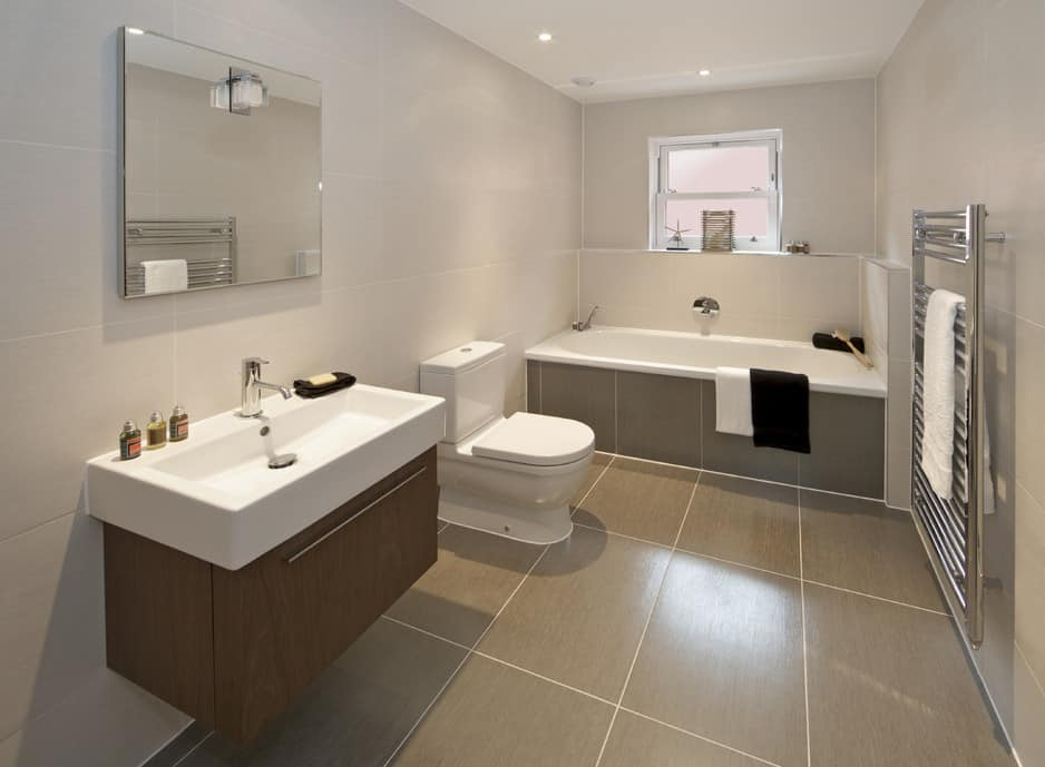 Koncept bathroom kitchen renovations sydney in lane cove for Large bathroom pictures