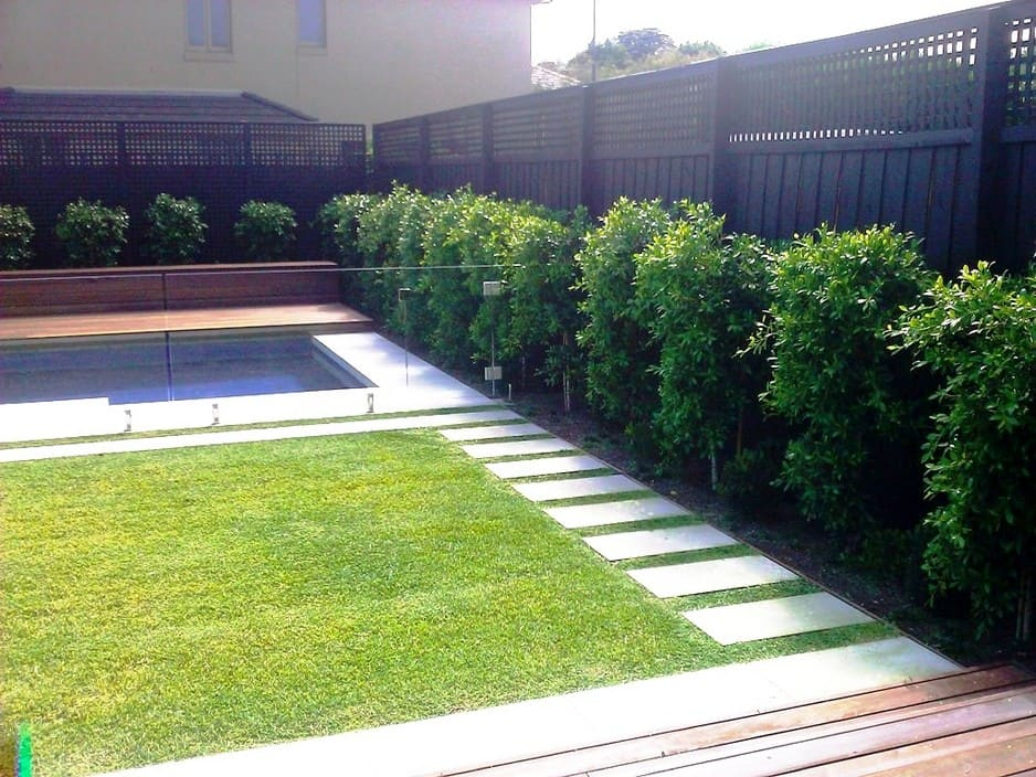 Landscaping beaumaris 3 years ago for Pool design ideas australia