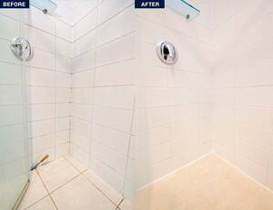 TrueLocal: Megasealed Australia Image - Before & After Shower