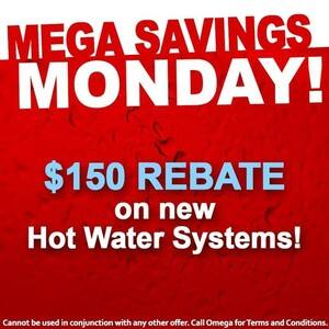 TrueLocal: Omega Service Solutions Image - Need a new hot water system? Grab the Omega Plumbing $150 rebate every Monday. Available right across Sydney