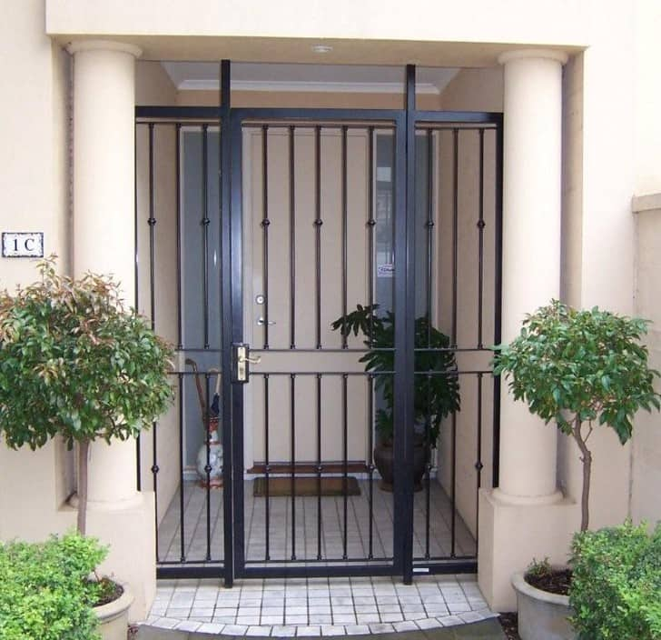 Iron Gates Second Hand Wrought Iron Gates Melbourne