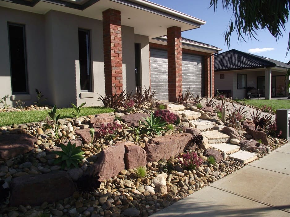 Front yard landscaping ideas melbourne pdf for Landscaping rocks melbourne