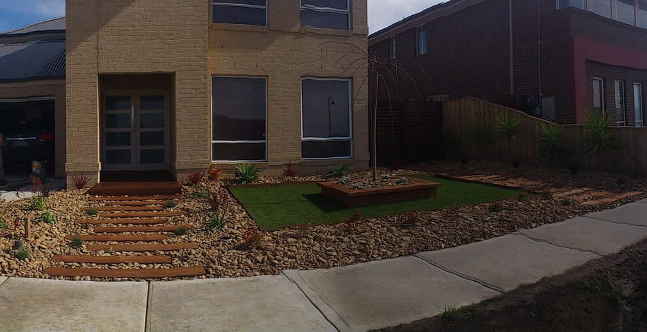 Front yard garden design melbourne pdf for Garden ideas melbourne