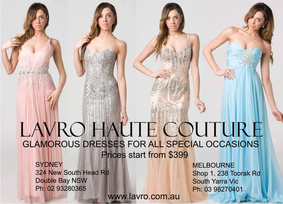 Rent evening dresses melbourne