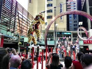 Chinese New Year celebrations at World Square
