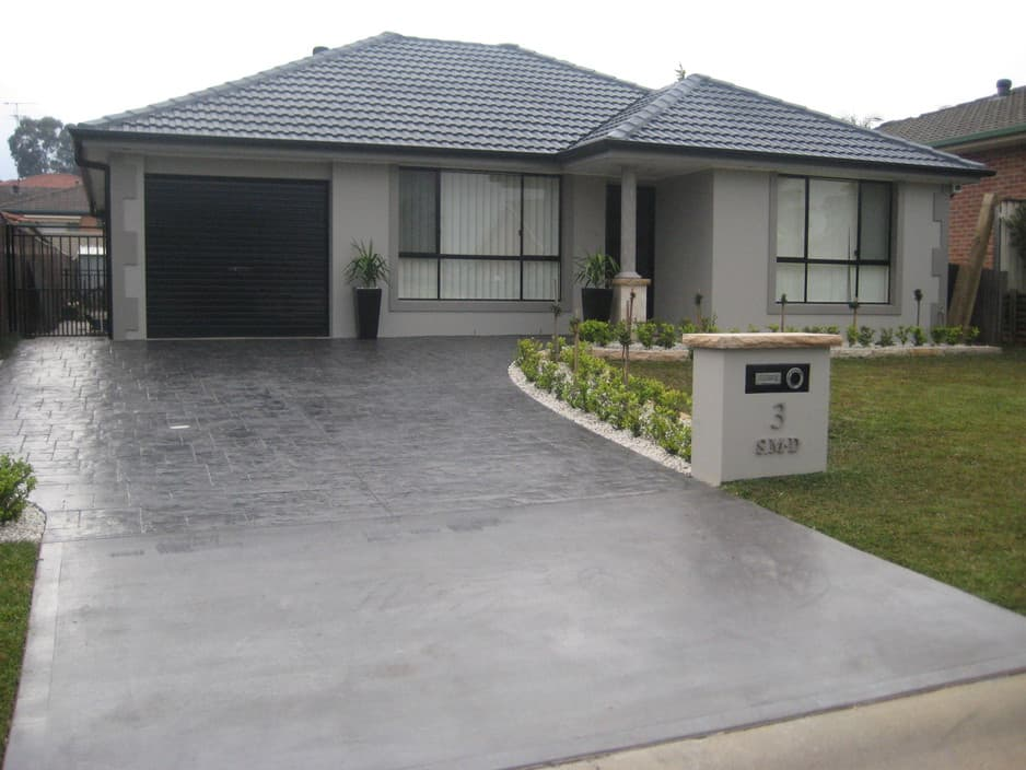 icr concreting and landscaping p l image driveway and landscaping