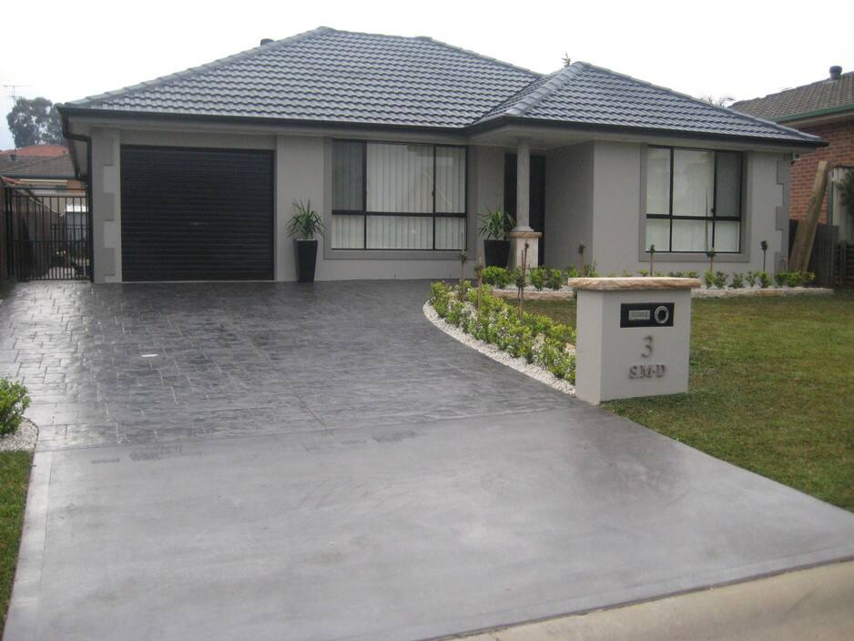 Icr concreting and landscaping p l in acacia gardens for Garden design ideas nsw