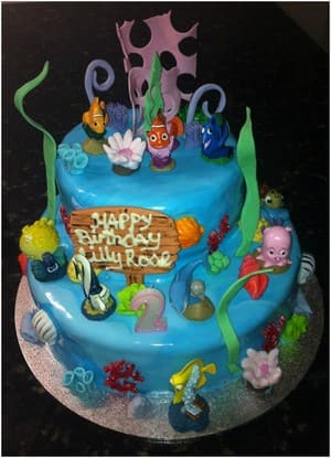 TrueLocal: The Cake Kitchen Image - Finding Nemo Cake - with all of your favorite characters  - Movie Cakes & Novelty Cakes