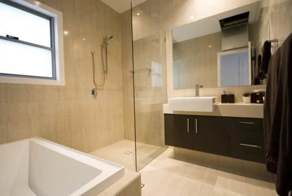 modern bathrooms in springwood brisbane qld bathroom