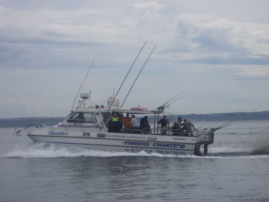 Westernport fishing charters in hastings melbourne vic for Melbourne fl fishing charters