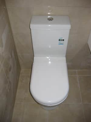 True Local: Seinors Plumbing Image - New Toilet Installation