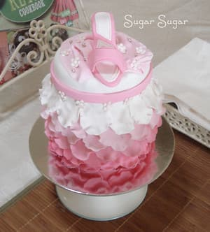 True Local: Sugar Sugar Cake Art Image - Pretty in Pink