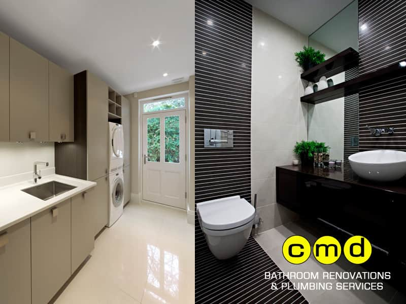 True Local Cmd Bathroom Renovations And Plumbing Services Image Laundry Bathroom Renovations