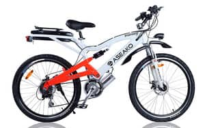 True Local: Aseako Electric Bikes Image - Aseako Tourney White