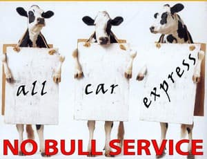 True Local: All Car Express  Image - call all car express for no bull service!