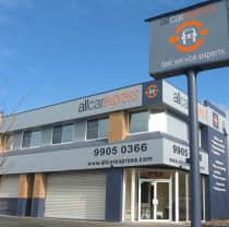 TrueLocal: All Car Express  Image - located conveniently in key brookvale intersection