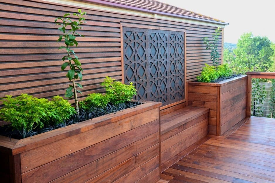Melbourne decking in upwey melbourne vic outdoor home for Privacy planters for decks