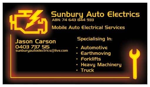 Sunbury Auto Electrics Sunbury Vehicle Electrical Repairs
