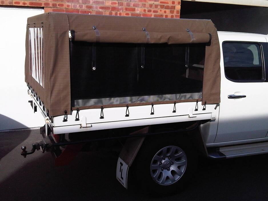 Sew good canvas and pvc products wangara perth vehicle spare parts - Canvas canopy ...